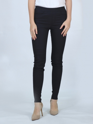 OLIVIA WOMEN LONG JEGGING IN BLACK