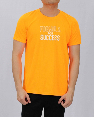 SEAN FORMULA FOR SUCCESS MICROFIBER TOP IN NEON ORANGE