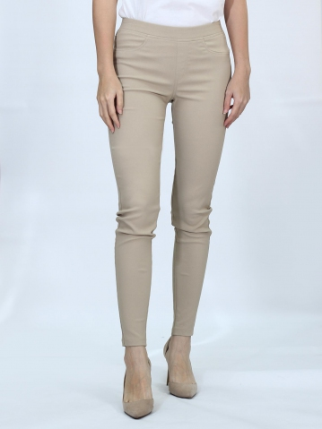 OLIVIA WOMEN LONG JEGGING IN KHAKI
