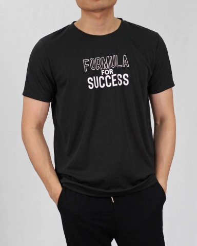 SEAN FORMULA FOR SUCCESS MICROFIBER TOP IN BLACK