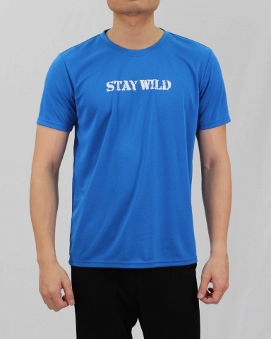 SEAN STAY WILD MICROFIBER TOP IN ROYAL