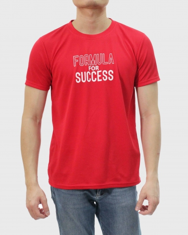 SEAN FORMULA FOR SUCCESS MICROFIBER TOP IN RED