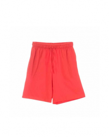 TARA SOLID KNIT BERMUDA IN DARK ORANGE