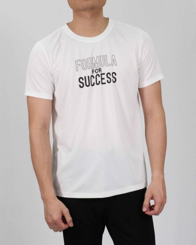 SEAN FORMULA FOR SUCCESS MICROFIBER TOP IN OFF WHITE