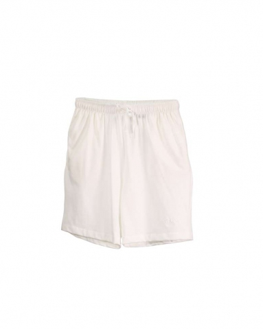 TARA SOLID KNIT BERMUDA IN OFF WHITE