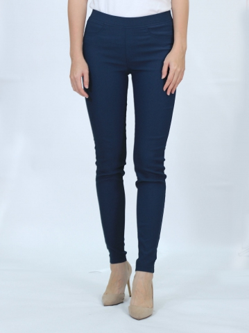 OLIVIA WOMEN LONG JEGGING IN DARK NAVY