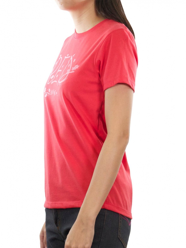 c51ab0112591 WOMEN RED ROSE GRAPHIC TEE IN RED - T-SHIRTS - WOMEN