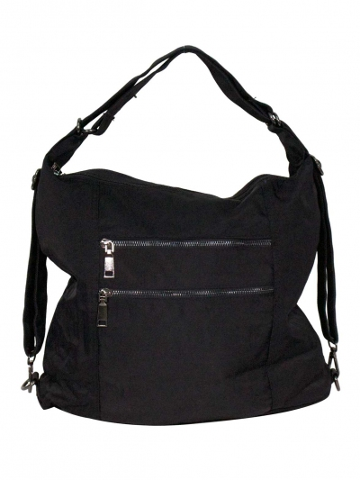 FIONA 3 WAY CONVERTIBLE BAG IN BLACK