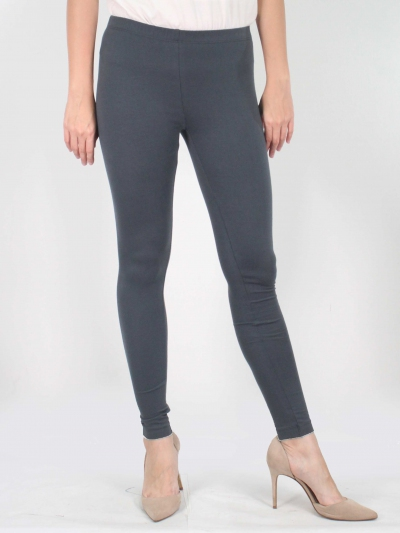 LYNN LONG LEGGINGS IN DARK GREY