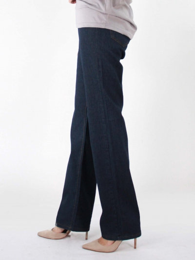 KATE STRAIGHT CUT JEANS IN DARK NAVY