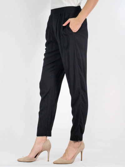 MOON EASY LONG PANT IN BLACK
