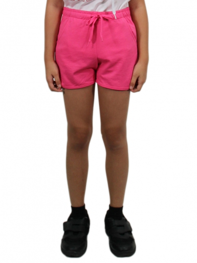 GISELLE KNITTED SHORT PANTS IN DARK PINK