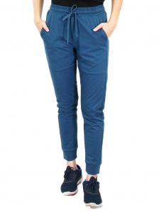 GLORIA JOGGER LONG PANTS IN PETROL