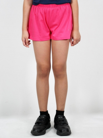 MELODI SOLID KNIT SHORTS IN PINK
