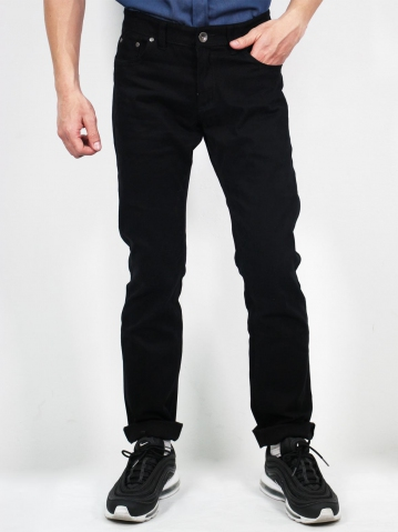 MIKE COLOUR JEANS IN BLACK