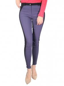 GLORIA CUT & SEW LONG JEGGING IN DARK GREY