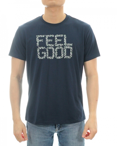 MEN FEEL GOOD GRAPHIC TEE IN DARK NAVY