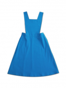 GIRLS PINAFORE SECONDARY IN TURQUOISE