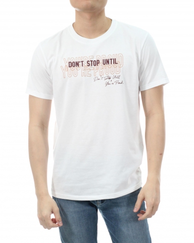 MEN YOU ARE PROUD GRAPHIC TEE IN OFF WHITE