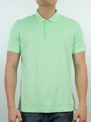 JACK SHORT SLEEVE POLO IN LIGHT GREEN