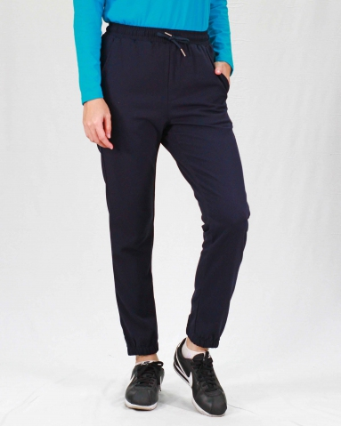 RAINE JOGGER LONG PANTS IN DARK NAVY