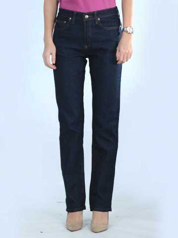 OLIVIA SLIM FIT JEANS IN DARK NAVY