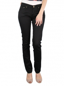 GLORIA SKINNY FIT COLOUR JEANS IN BLACK