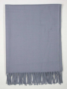 FIONA SOLID COLOUR SCARF IN MID GREY