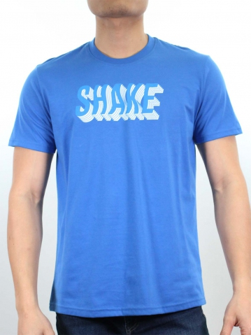 MEN SHAKE GRAPHIC TEE IN ROYAL