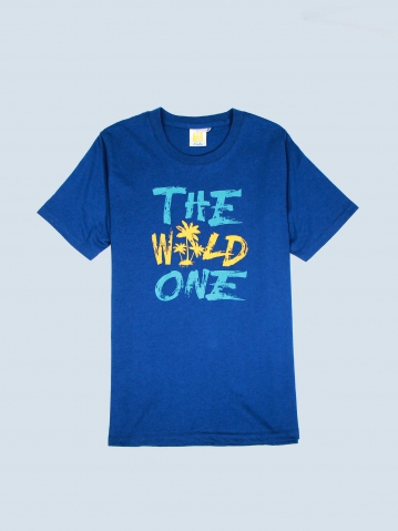 BOYS THE WILD ONE GRAPHIC TEE IN DARK NAVY