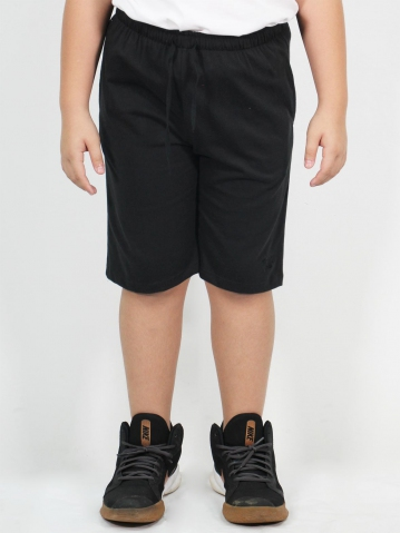 MAXX SOLID KNIT BERMUDA IN BLACK