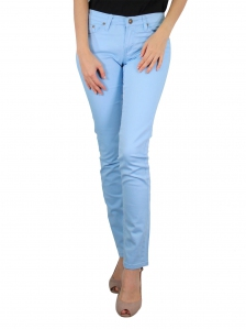 GLORIA SKINNY FIT COLOUR JEANS IN LIGHT BLUE