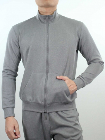 JACK LONG SLEEVE JACKET IN DARK GREY