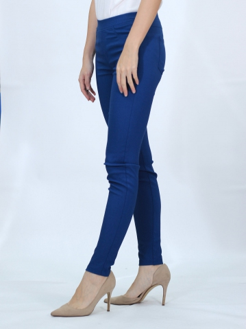 OLIVIA WOMEN LONG JEGGING IN DARK BLUE