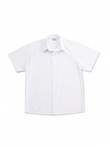 BOYS SHORT SLEEVE SHIRT IN WHITE