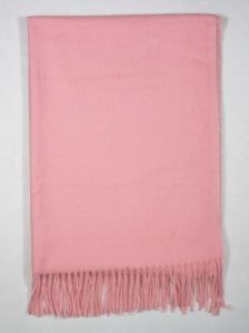 FIONA SOLID COLOUR SCARF IN PINK