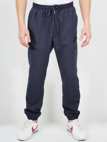 MIKE JOGGER LONG PANTS IN DARK NAVY
