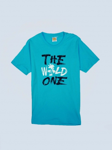 BOYS THE WILD ONE GRAPHIC TEE IN LIGHT BLUE