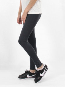 HEBE LONG LEGGINGS IN MID GREY