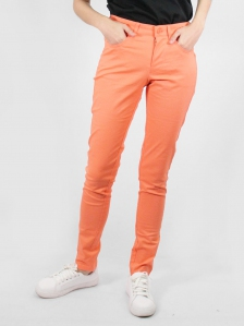 HEBE COTTON LONG PANTS IN PEACH