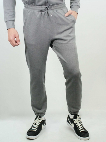 JACK KNITTED JOGGER PANT IN DARK GREY