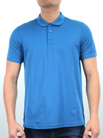JACK SHORT SLEEVE POLO IN PETROL