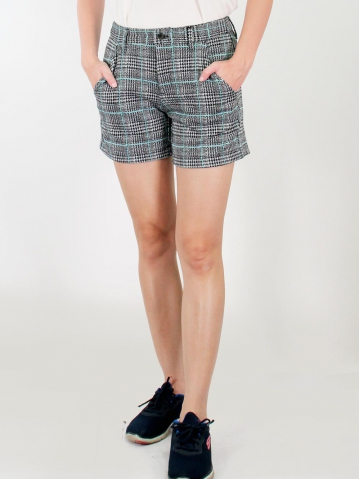 JANE KNITTED SHORT PANTS IN MID TEAL