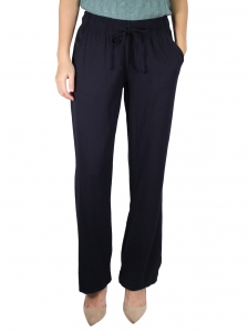 GLORIA  EASY LONG PANT IN DARK NAVY