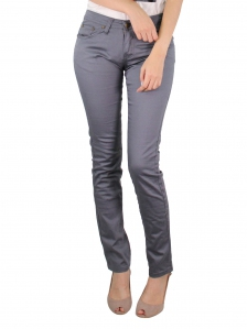 GLORIA SKINNY FIT COLOUR JEANS IN MID GREY