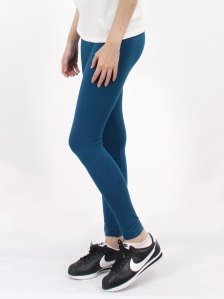HEBE LONG LEGGINGS IN DARK TEAL