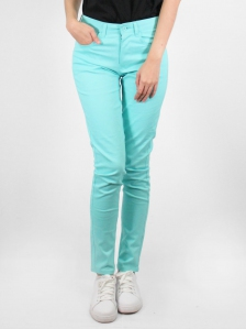 HEBE COTTON LONG PANTS IN MINT