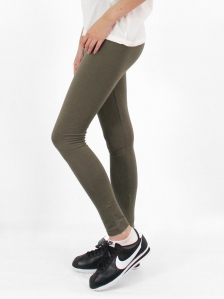 HEBE LONG LEGGINGS IN ARMY GREEN