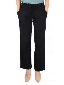 GLORIA  EASY LONG PANT IN BLACK