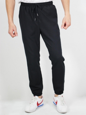 MIKE JOGGER LONG PANTS IN BLACK